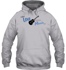 I Just LOVE Music  - Gildan Adult Heavy Blend™ Hoodie