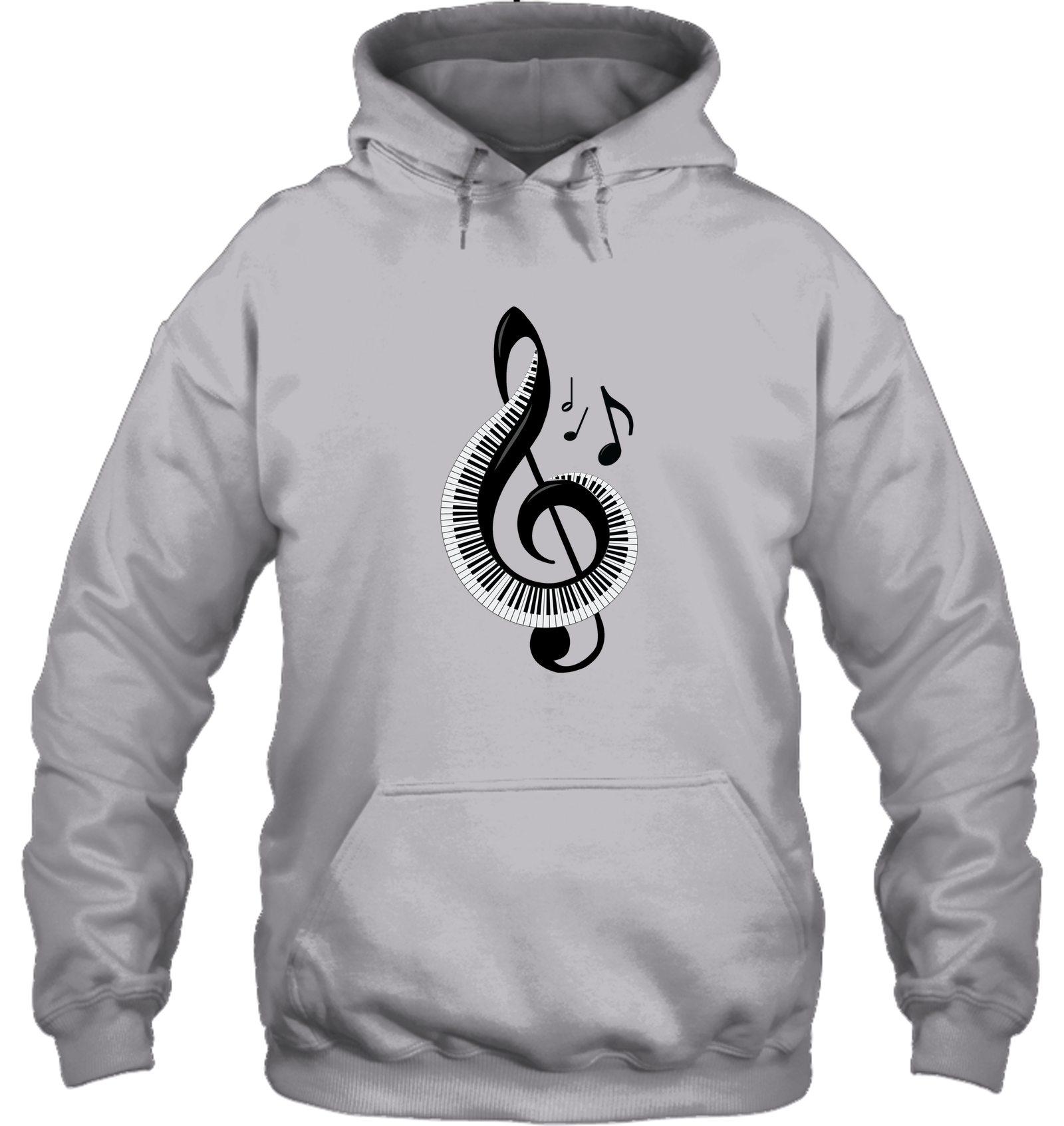 Keyboard Treble - Gildan Adult Heavy Blend™ Hoodie