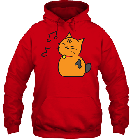 Singing Kitty - Gildan Adult Heavy Blend™ Hoodie
