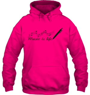 Music is Life Note - Gildan Adult Heavy Blend™ Hoodie