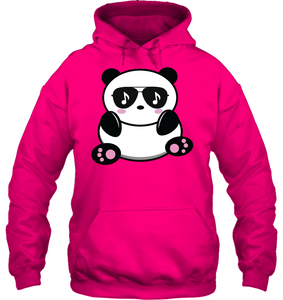 Cool Music Loving Panda feeling the beat - Gildan Adult Heavy Blend™ Hoodie