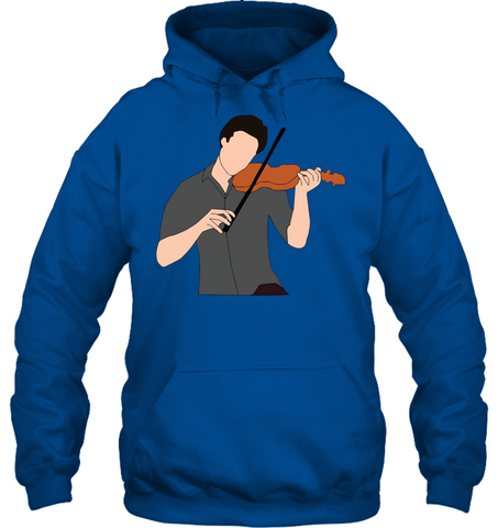 Guy Playin the Violin - Gildan Adult Heavy Blend™ Hoodie