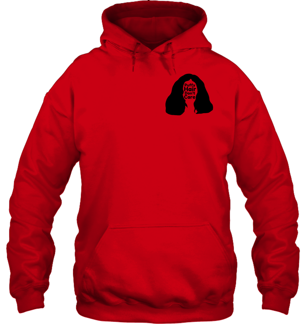 Puffy Hair Don't Care, Sophie (Pocket Size) - Gildan Adult Heavy Blend™ Hoodie
