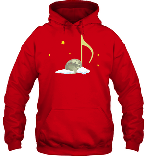 Night Note and stars - Gildan Adult Heavy Blend™ Hoodie