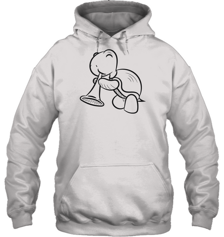 Turtle with Trumpet - Gildan Adult Heavy Blend™ Hoodie