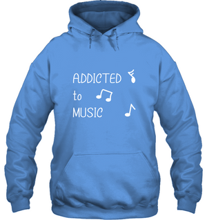 Addicted to Music - Gildan Adult Heavy Blend™ Hoodie