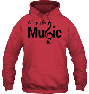 Hungry for Music - Gildan Adult Heavy Blend™ Hoodie