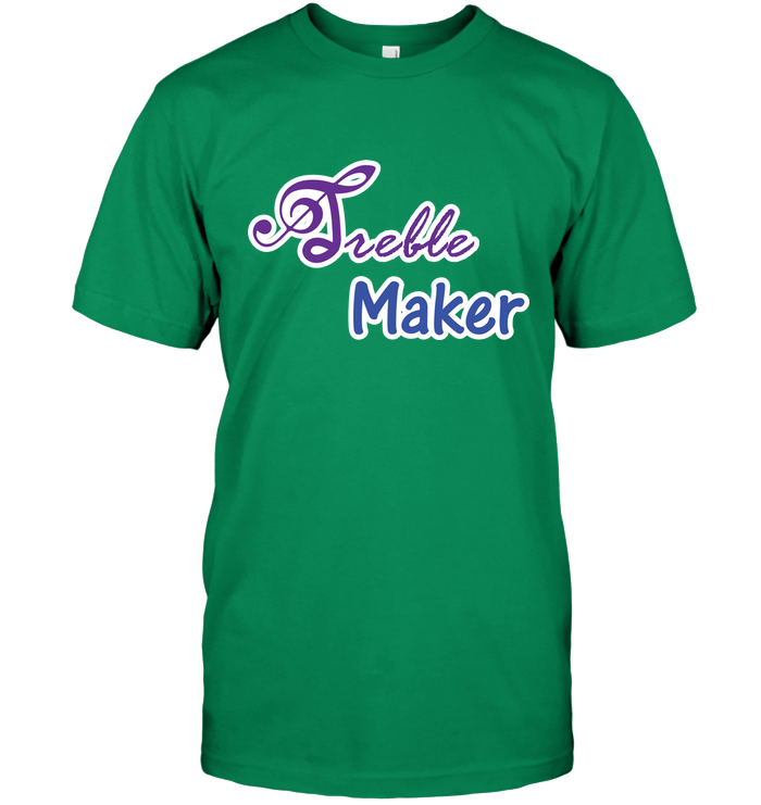 Treble Maker plain and simple - Hanes Adult Tagless® T-Shirt