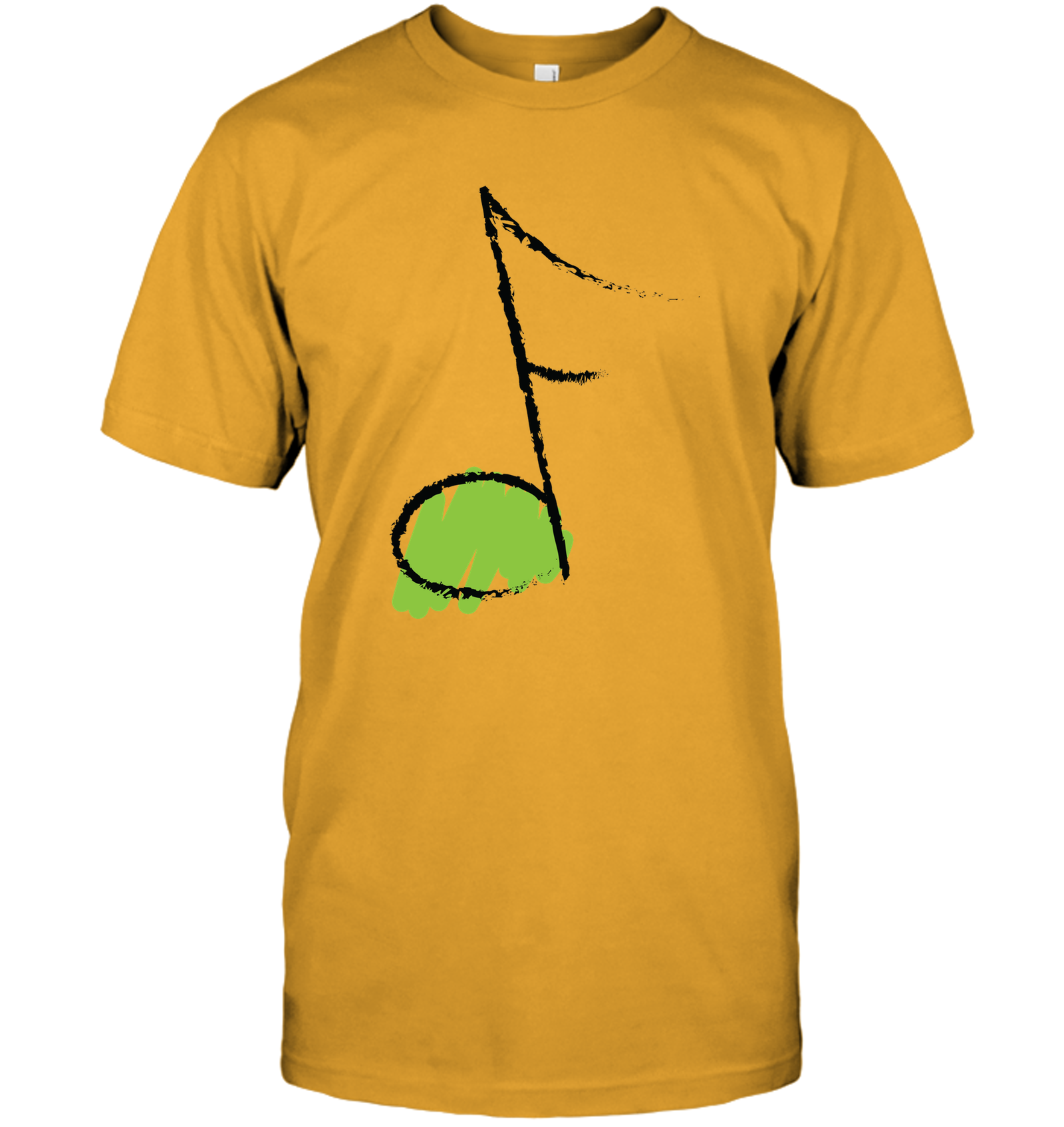 Green Note - Hanes Adult Tagless® T-Shirt
