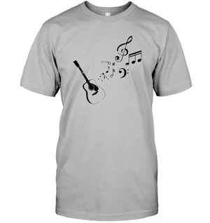 Guitar Tunes  - Hanes Adult Tagless® T-Shirt