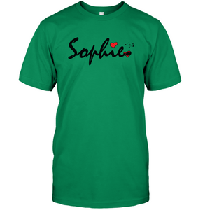 Sophie Loves Music - Hanes Adult Tagless® T-Shirt