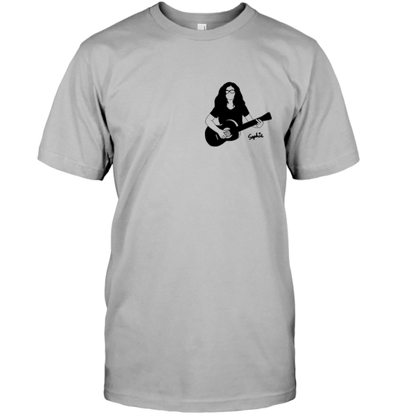 Playin My Guitar, Sophie (Pocket Size) - Hanes Adult Tagless® T-Shirt