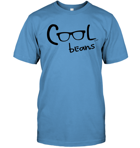Cool Beans - Black - Hanes Adult Tagless® T-Shirt