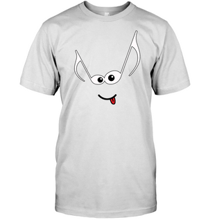 Mischievous Note Face - Hanes Adult Tagless® T-Shirt