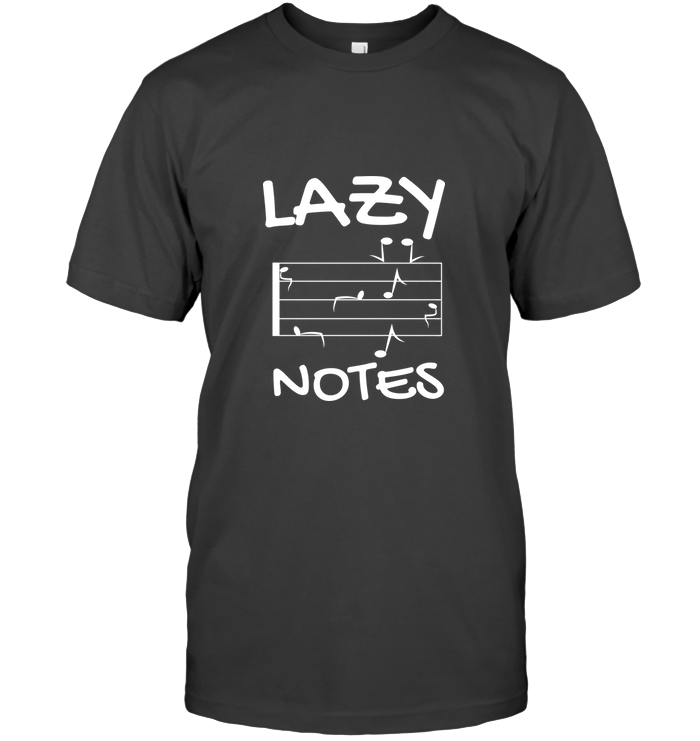 Lazy Notes - Hanes Adult Tagless® T-Shirt