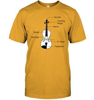 The Cello Blk Wht - Hanes Adult Tagless® T-Shirt