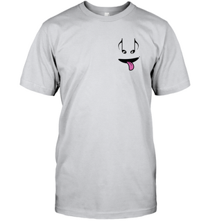 Silly Note Face (Pocket Size) - Hanes Adult Tagless® T-Shirt