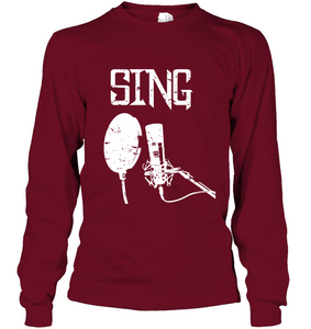 Sing - Gildan Adult Classic Long Sleeve T-Shirt