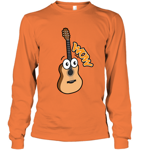 Wow Guitar - Gildan Adult Classic Long Sleeve T-Shirt