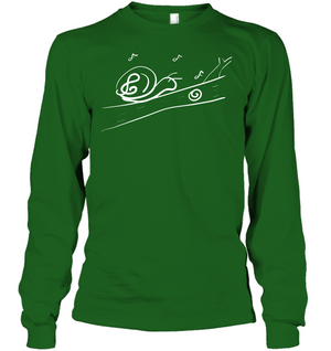 Musical Snail - Gildan Adult Classic Long Sleeve T-Shirt