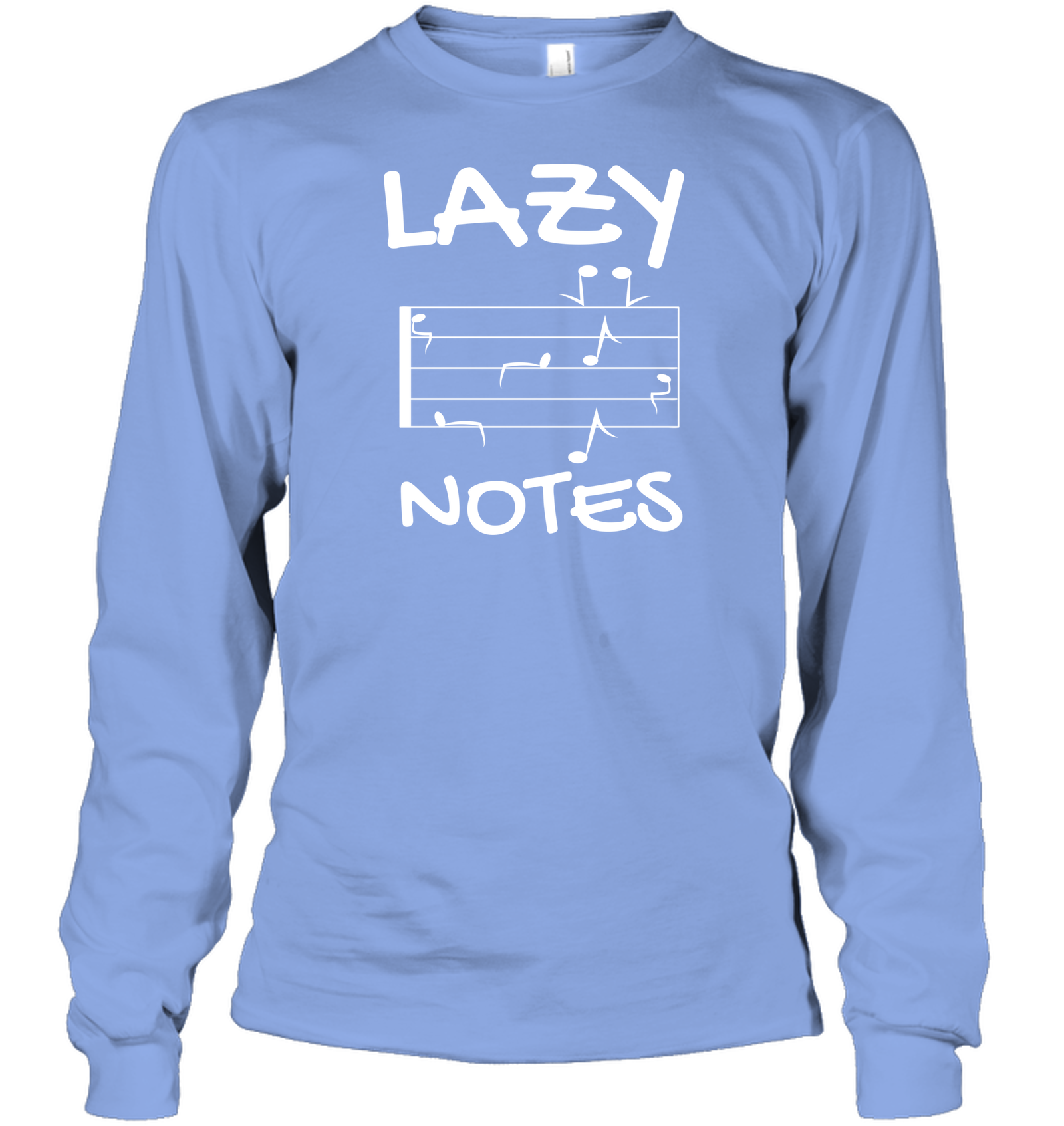 Lazy Notes - Gildan Adult Classic Long Sleeve T-Shirt