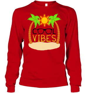 Cool Vibes - Gildan Adult Classic Long Sleeve T-Shirt
