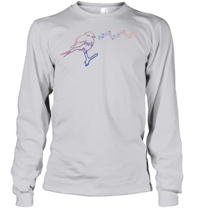 Musical Bird - Gildan Adult Classic Long Sleeve T-Shirt