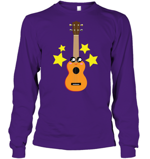 Cute Guitar - Gildan Adult Classic Long Sleeve T-Shirt
