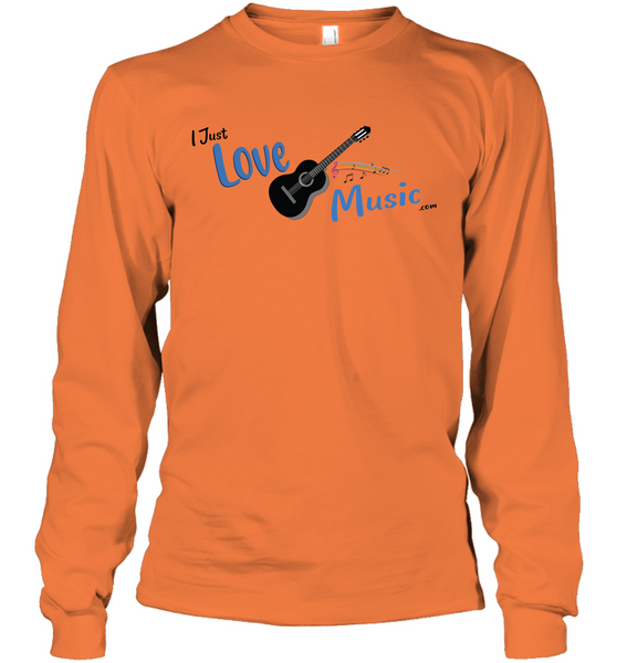I Just LOVE Music - Gildan Adult Classic Long Sleeve T-Shirt