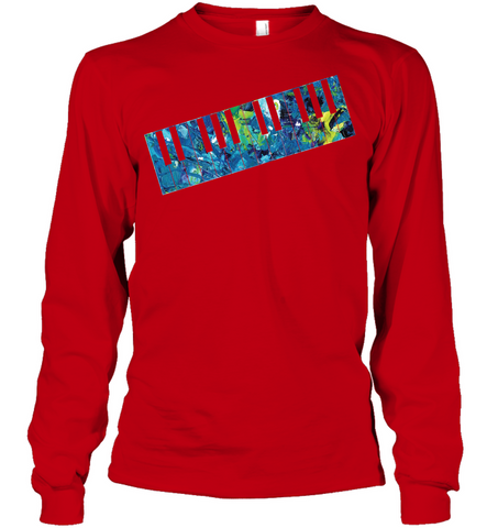Keyboard Art - Gildan Adult Classic Long Sleeve T-Shirt