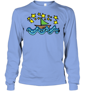 Sailing Under the Stars - Gildan Adult Classic Long Sleeve T-Shirt