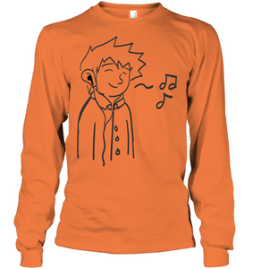 Listening to my Song - Gildan Adult Classic Long Sleeve T-Shirt