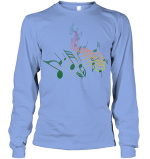 Musical Swirl - Gildan Adult Classic Long Sleeve T-Shirt