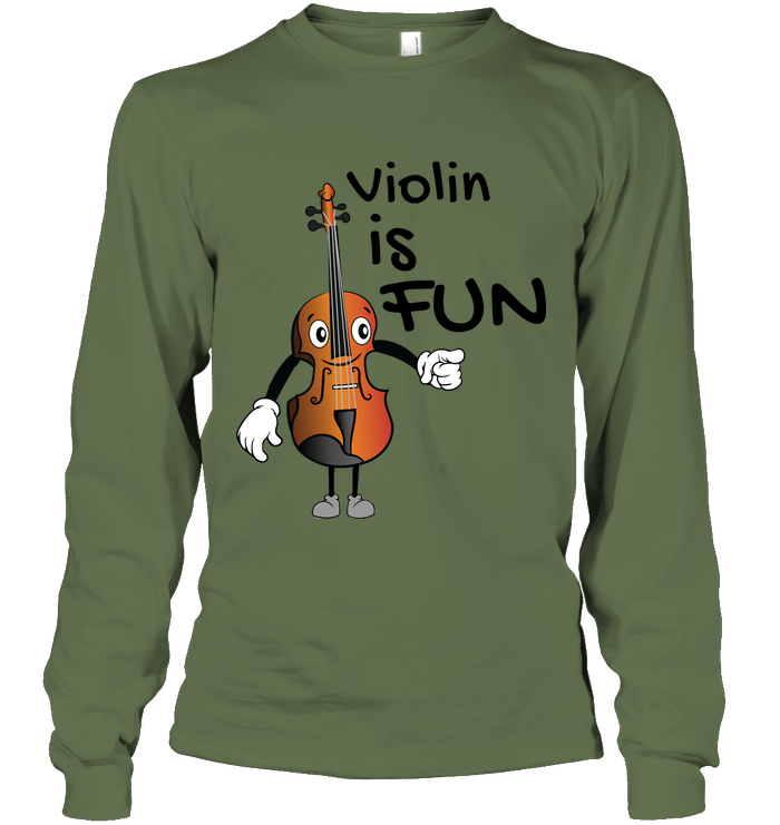 Violin is Fun - Gildan Adult Classic Long Sleeve T-Shirt
