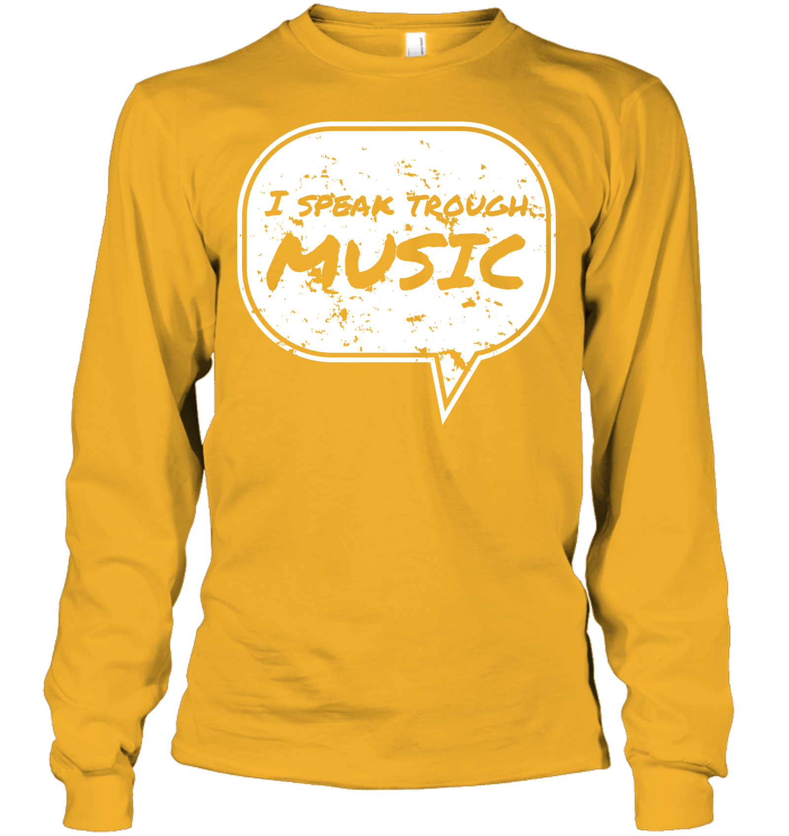 I Speak Through Music - Gildan Adult Classic Long Sleeve T-Shirt