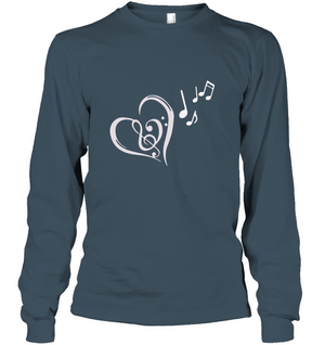 Heart Felt Notes - Gildan Adult Classic Long Sleeve T-Shirt
