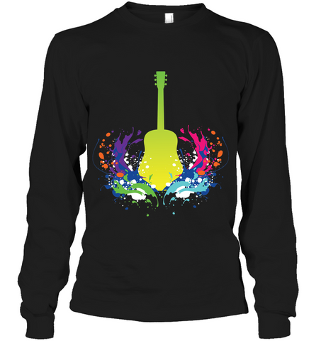 Guitar is Born - Gildan Adult Classic Long Sleeve T-Shirt