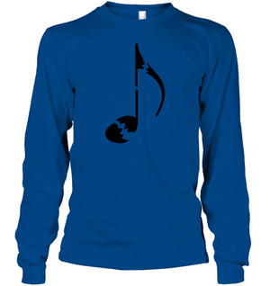 Broken Note - Gildan Adult Classic Long Sleeve T-Shirt