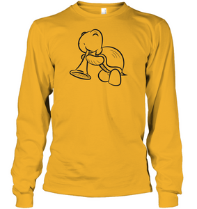 Turtle with Trumpet - Gildan Adult Classic Long Sleeve T-Shirt