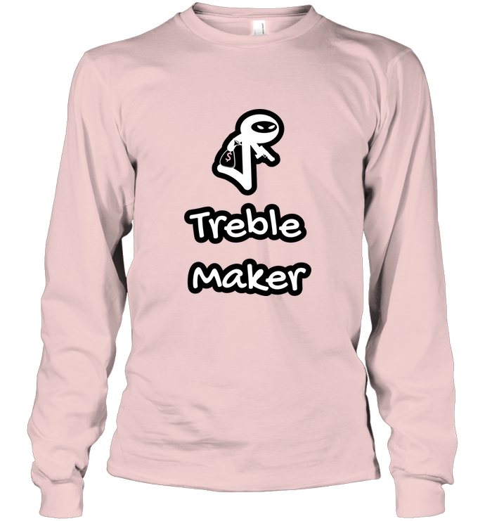 Treble Maker Robber White - Gildan Adult Classic Long Sleeve T-Shirt