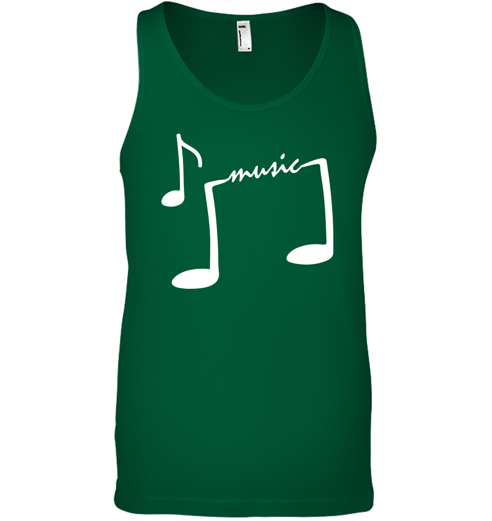 Musical Feet - Bella + Canvas Unisex Jersey Tank
