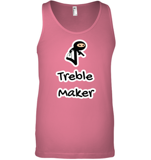 Treble Maker Robber - Bella + Canvas Unisex Jersey Tank