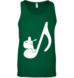 Sitting on a Note - Bella + Canvas Unisex Jersey Tank