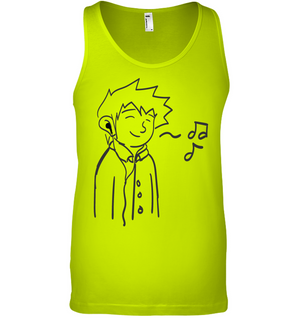 Listening to my Song - Bella + Canvas Unisex Jersey Tank