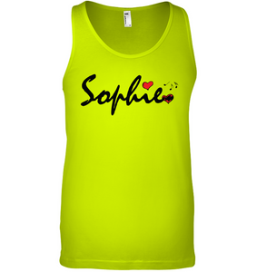 Sophie Loves Music - Bella + Canvas Unisex Jersey Tank