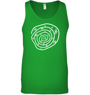 Notes in a Swirl - Bella + Canvas Unisex Jersey Tank