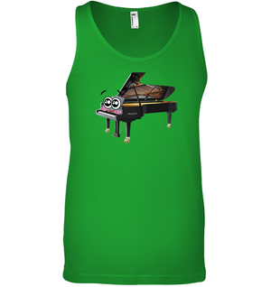 Piano Eyes - Bella + Canvas Unisex Jersey Tank