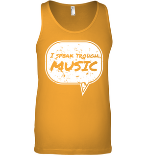 I Speak Through Music - Bella + Canvas Unisex Jersey Tank