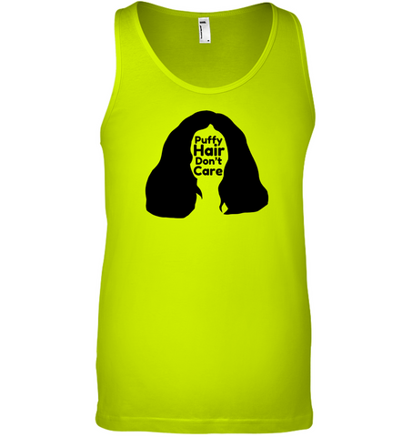 Puffy Hair Don't Care, Sophie - Bella + Canvas Unisex Jersey Tank