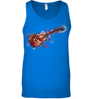 Guitar Art - Bella + Canvas Unisex Jersey Tank